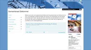 Website gemeenteraad Zaltbommel